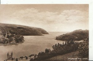 Devon Postcard - Mouth of The Dart - Devon - Ref 7690A