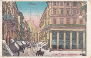 MILANO, Lombardia, Italy, PU-1904; Corso Vittorio Emanuele