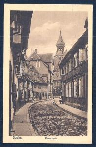 Peter Street Goslar Harz Germany unused c1920's