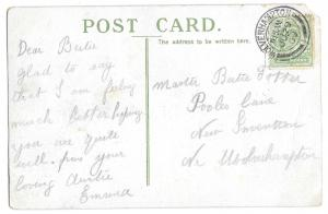 Potter, Pooles Lane, Snetterton Genealogy Postcard Kings College Cambridge 1909