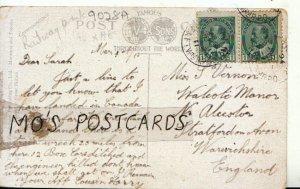 Genealogy Postcard - Sarah Vernon - Stratford on Avon - Warwickshire - Ref 9028A