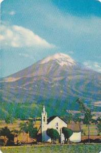 El Volcan Popocatepetl , Mexico, 40-60s