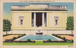 Rodin Museum Parkway Philadphia Pennsylvania