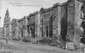 Spain Cordoba Exterior de la Catedral Dom Cathedral