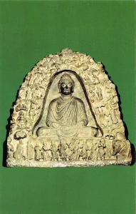 Pakistan The Buddha in The Indrasalaga Cave, Mamane Dheri Gandhara Museum