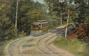 ORANGE MOUNTAIN , New Jersey, 00-10s ; Eagle Rock Trolley Car