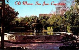 California Mission San Juan Capistrano Fountain Of The Four Evangelists