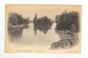 Bois de Boulogne, France, 1898-1905 , Le Grand lac