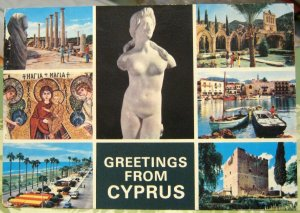Cyprus Greetings from Multi-view - posted 1988