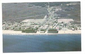 An aerial view of Salisbury Beach, Massachusetts, 40-60s