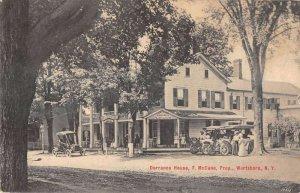 Wurtsboro New York Dorrance House Vintage Postcard AA25413