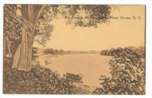 The Bend in the Susquehanna River, Owega, New York, PU