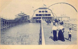 The Casino, Toledo, Ohio Amusement Park c1910s Albertype Vintage Postcard