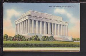 Lincoln Memorial,Washington,DC Postcard