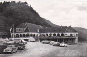 Austria Aggsbach Hotel Restaurant Zum Fliegenden Hollaender Real Photo