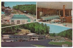 Parkers Lake, Kentucky, Early Views of Holiday Motor Lodge & Restaurant