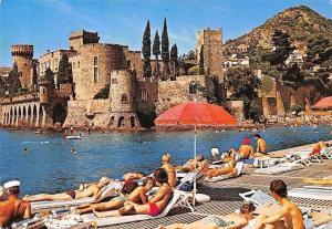 France La Napoule, Le Chateau Plage du Port, Beach Castle