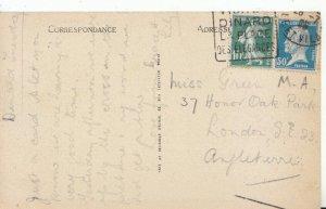 Genealogy Postcard - Green M.A. - 37 Honor Oak Park - London S.E.23 - Ref 4841A