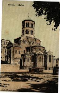 CPA ISSOIRE - L'Église (220675)