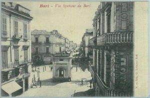 97906  - CARTOLINA d'Epoca -  BARI Citta'  - Via SPARANO da BARI