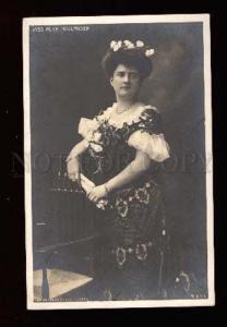 006913 Alice HOLLANDER Opera SINGER Vintage Photo PC