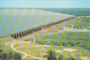 South Carolina Santee Dam and Spillway