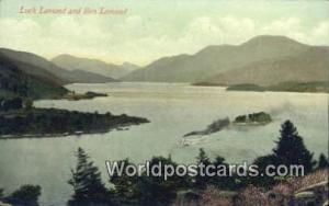 Scotland, Escocia Ben Lomond Loch Lomond Ben Lomond