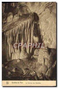 Old Postcard Han Caves The Danaides' barrel