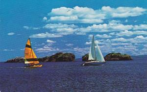 Sailing In The Bay Of Chaleur, Dalhousie, New Brunswick, Canada, 1940-1960s