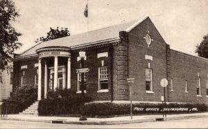 Pennsylvania Selingsgrove Post Office 1956