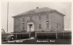 RP; ASSINIBOIA , Sask., 1930-40s ; Court House