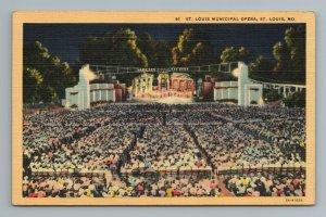 St Louis Municipal Opera MO Missouri Postcard