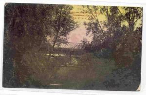 American Creek and Bridge, Chamberlain, South Dakota, PU-1909