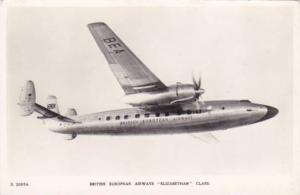 RP, British European Airways Elizabethan Class, Aeroplane, 1930-1940s