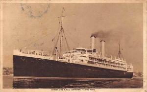 Orient Line R.M.S. Ormonde, 15.000 Tons Ship