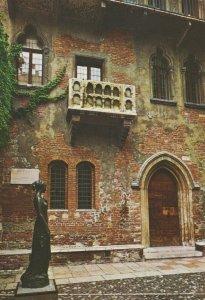 VERONA Maison de Juliet Vintage Postcard