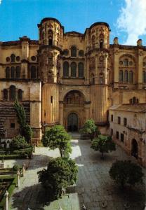 Spain Malaga Catedral Puerta de las cadenas Cathedral