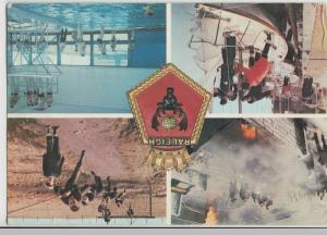 Navy; Training Base HMS Raleigh Multiview PPC, Sent By Scottish Recruit, 1983