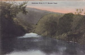 Keiskama River Cape Town South Africa Old Postcard