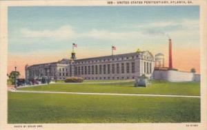 Georgia Atlanta The United States Penitentiary Curteich