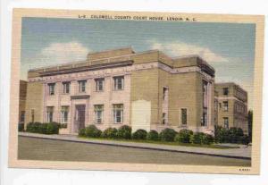 Caldwell County Court House, Lenoir, North Carolina, 30-40s