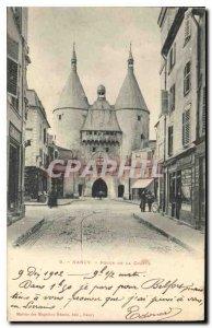 Old Postcard Nancy Gate Chappe