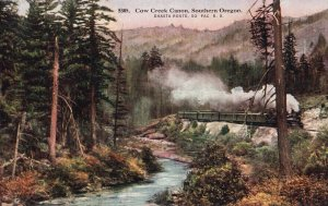 12405 Cow Creek Canyon Oregon, Shasta Route, Southern Pacific, Railroad