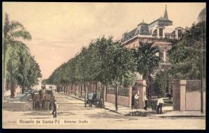 argentina, ROSARIO de SANTA-FE, Bulevar Oroño (1910s)