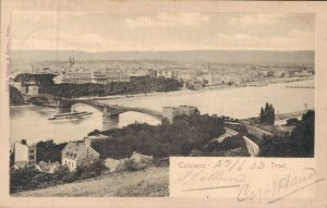 Germany Beautiful Rare Postcard Lot of 7 Coblenz Cleve and more   01.19