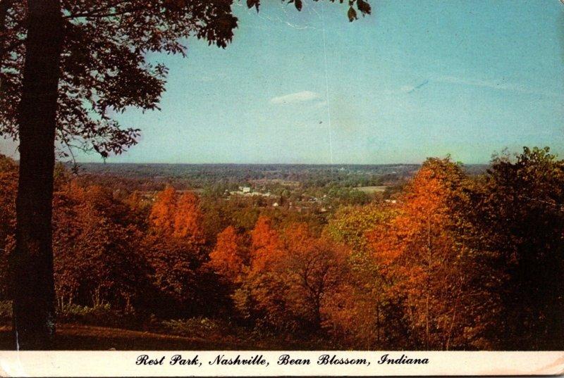 Indiana Nashville Bean Blossom Rest Park 1978