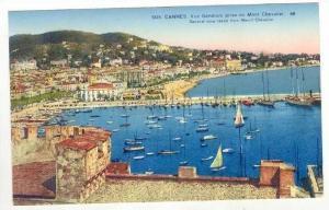 Cannes, France, Vue Generale prise du Mont Chevalier, 00-10s