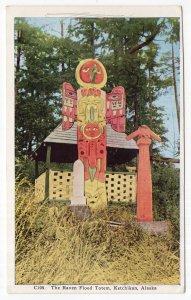 Ketchikan, Alaska, The Raven Flood Totem