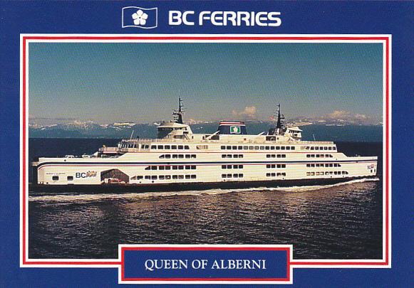 Canada Ferry Queen Of Alberni British Columbia Ferries