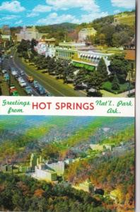 Arkansas Greetings From Hot Springs National Park